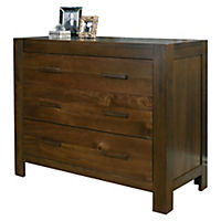 Hatfield Wide 3-drawer Chest of Drawers