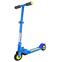 Ozbozz Lightning Strike Scooter Blue & Black