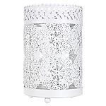 Tu Doily Cut Out Hurricane Candle Holder
