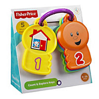 Fisher-Price Brilliant Basics Count & Explore Keys