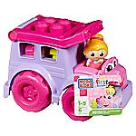 Mega Bloks First Builders Lil' Vehicles Susie School Bus