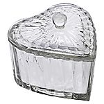 Tu Glass Heart Trinket Box