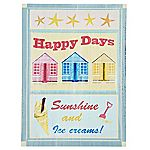 Summer Sundae Happy Days Wall Art 44x33cm