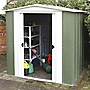 Rowlinson Greenvale Metal Apex Shed 6x5ft