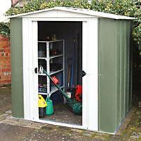 Rowlinson Greenvale Metal Apex Shed 10x8ft