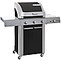 Landmann 3-burner Black Cronos Barbecue with Cabinet
