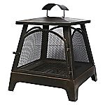 La Hacienda Steel Outdoor Fireplace