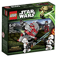 LEGO Star Wars Republic Troopers vs Sith Troopers