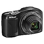 Nikon Coolpix L610 16 Megapixel 14x Zoom Black Digital Camera
