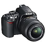 Nikon D3100 14.2 Megapixel 3x Zoom Digital SLR Camera with 18-55mm Lens Kit