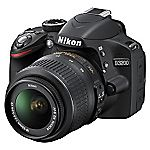 Nikon D3200 24.2 Megapixel 3x Zoom Digital SLR Camera with 18-55mm Lens Kit