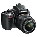 Nikon D5100 16.2 Megapixel 3x Zoom Digital SLR Camera with 18-55mm Lens Kit