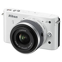 Nikon 1 J2 10.1 Megapixel 2.7x Zoom Compact Camera System with 10-13mm Lens Kit