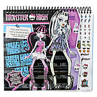 Monster High Make-up Design Sketch Portfolio