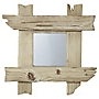 Drift Wood Mirror 35x35