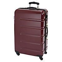 "Envoy Glossy Red ABS 28"" Suitcase"