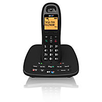 BT 1500 Single DECT Cordless Phone with Answering Machine