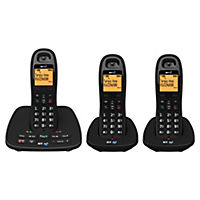 BT 1500 Triple DECT Cordless Phone with Answering Machine