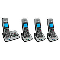 BT 2500 Quad DECT Cordless Phone with Answering Machine