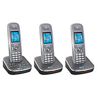 BT 7500 Triple DECT Cordless Phone with Answering Machine