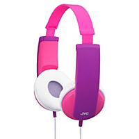JVC Kids' Pink & Purple Headphones