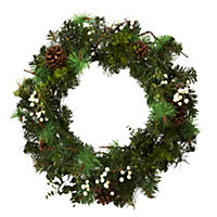 by Sainsbury's Premium 60cm Traditional Wreath