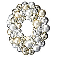 by Sainsbury's Bauble Wreath