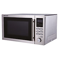 Sharp R82STMA 25L Stainless Steel Combination Microwave Oven