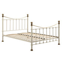 Alexa Cream Double Bedstead