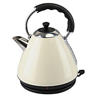 Kitchen Collection Cream Pyramid Kettle