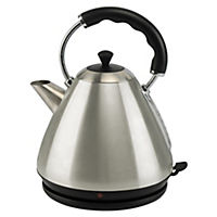 Kitchen Collection Brushed Stainless Steel Pyramid Kettle