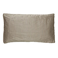 by Sainsbury's Mink Soft Pleat Cushion