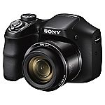 Sony DSCH200 20 Megapixel 26x Zoom Black Digital Bridge Camera