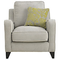 Angelina Chair Sofa with Lime Scatter Cushion