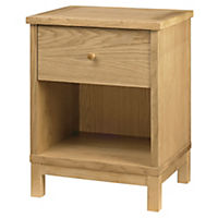 Atlantis Natural Nightstand