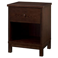 Atlantis Dark Wood Nightstand