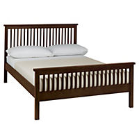 Atlantis Dark Wood Bedstead