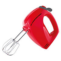 Sainsbury's Colour Cherry Red Hand Mixer