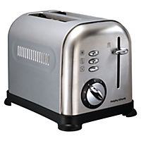 Morphy Richards Accents Brushed Steel 2-slice Toaster