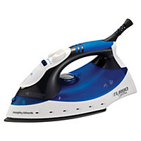 Morphy Richards 40679 Turbosteam Diamond Soleplate Steam Iron
