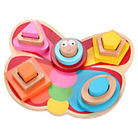 Grow & Play Betsy Butterfly Sort and Stack