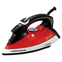 Morphy Richards 300203 Breeze Steam Iron Red and Black