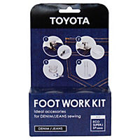 Toyota Sewing Machine Footwork Denim and Jeans Kit