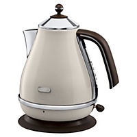 DeLonghi KBOV3001.BG Cream Vintage Icona Kettle