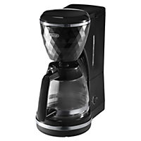 De'Longhi ICMJ210 Brillante Black Filter Coffee Maker