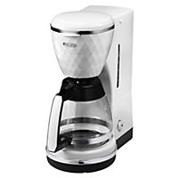 DeLonghi ICMJ210.W Brillante White Filter Coffee Maker
