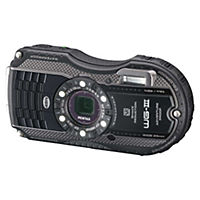 Pentax Optio WG-3 16 Megapixel 4x Zoom Black Digital Camera