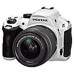 Pentax K-30 SLR 16 Megapixel 18-55mm White Digital Camera