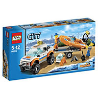 LEGO City 4x4 & Diving Boat