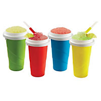 ChillFactor Squeeze Cup Slushy Maker - colours may vary